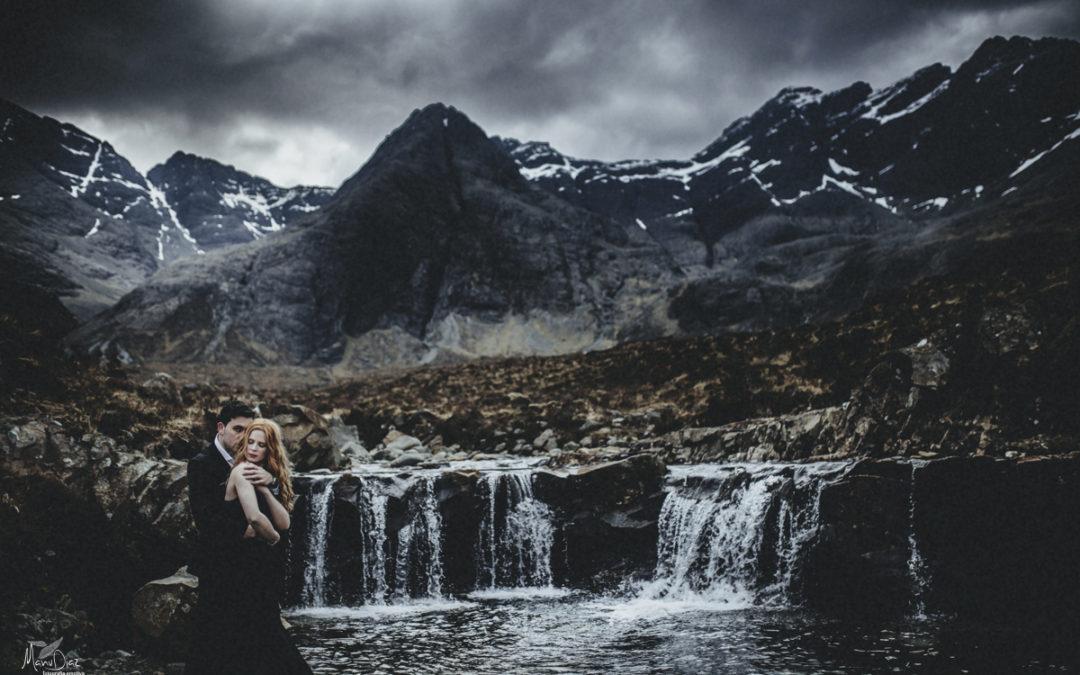 Preboda en Escocia – Ingrid + Jesus